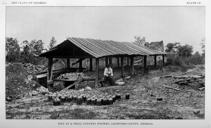 Eddie Averet's Crawford County Pottery Kiln