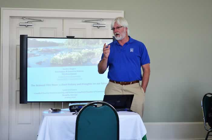 2014 Guest speaker: Gordon Rogers Flint River Keeper
